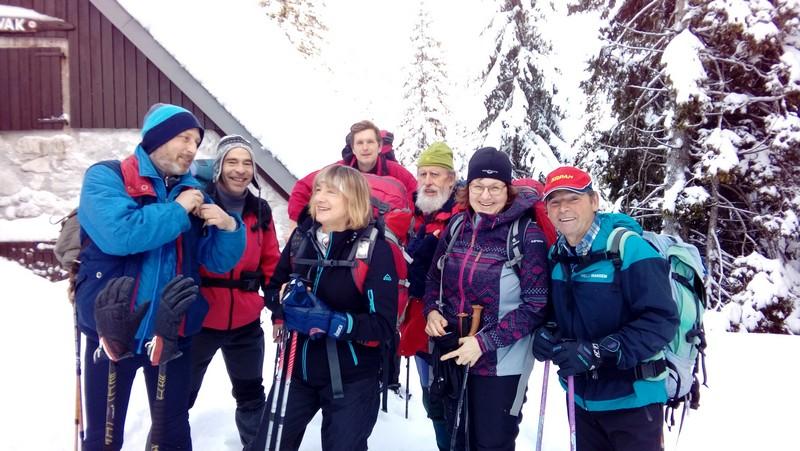 Novoletni vzpon do Krnskih jezer