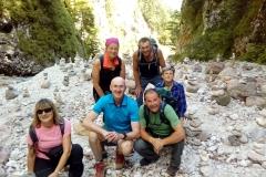Uspešen dvodnevni podvig do Martuljških slapov in na Rateške Ponce