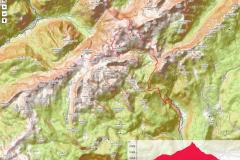 Zemljevid Triglav